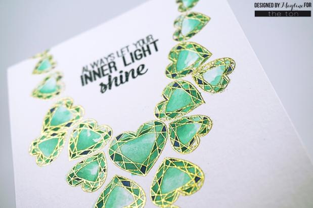 Heart Diamonds-necklace-watercolor2