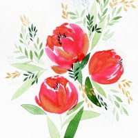 Fall in love with watercolor