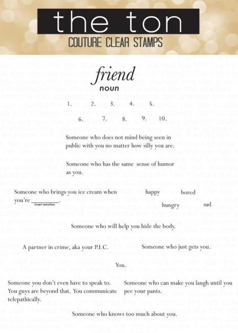 Friend Defined