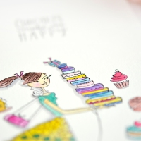 Cupcakes make me happy – PENNY BLACK SIMPLICITY SISTER