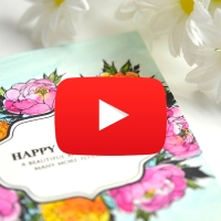 Happy Birthday Card with How-To Video