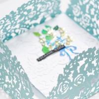 Spellbinders - Butterfly Gardens Card
