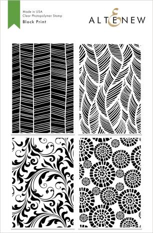 6x8 Block Print