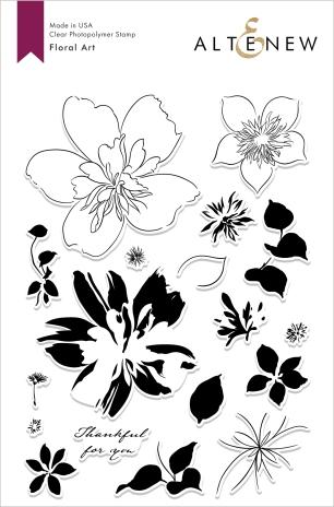 6x8 Floral Art