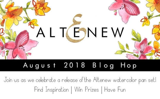 Altenew Watercolor Pan Set_Blog Hop Graphic