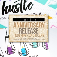 The Ton's 4th Anniversary Blog Hop - Day 4