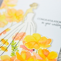 Wedding wishes card - The Ton