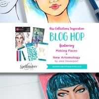 Jane Davenport NEW Artomology + Making Faces Blog Hop