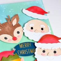 Santa's Helpers– SPELLBINDERS LARGE DIE SETS