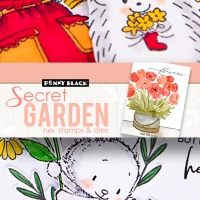 Secret Garden - Penny Black
