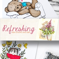 Refreshing - Penny Black Stamps