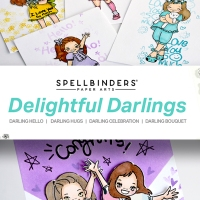 DELIGHTFUL DARLINGS COLLECTION FROM SPELLBINDERS